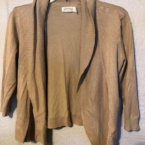 CARDIGAN BY FADED GLORY SIZE L
